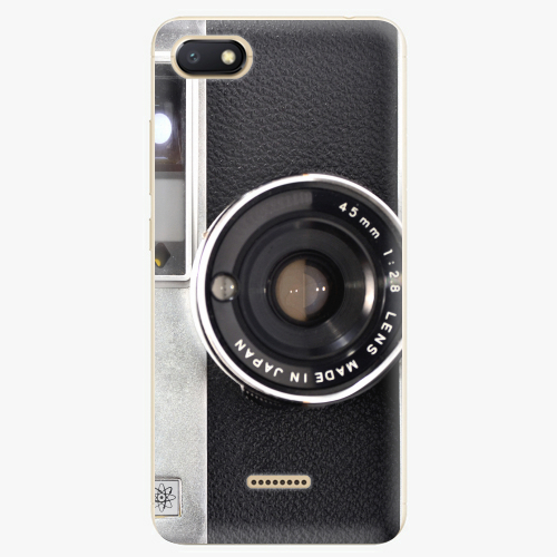 Silikonové pouzdro iSaprio - Vintage Camera 01 na mobil Xiaomi Redmi 6A