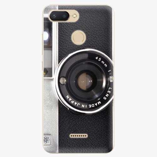 Silikonové pouzdro iSaprio - Vintage Camera 01 na mobil Xiaomi Redmi 6