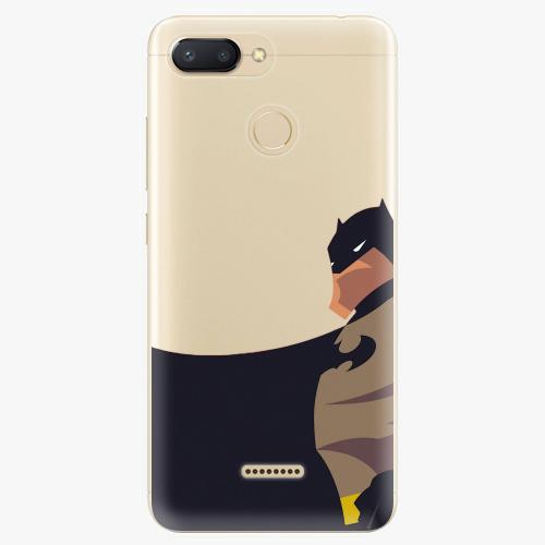 Silikonové pouzdro iSaprio - BaT Comics na mobil Xiaomi Redmi 6