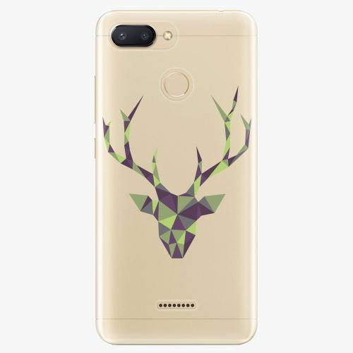 Silikonové pouzdro iSaprio - Deer Green na mobil Xiaomi Redmi 6