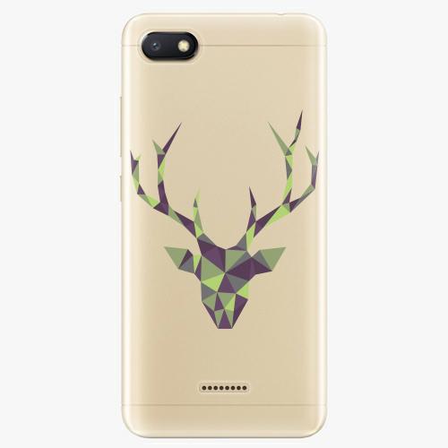 Silikonové pouzdro iSaprio - Deer Green na mobil Xiaomi Redmi 6A
