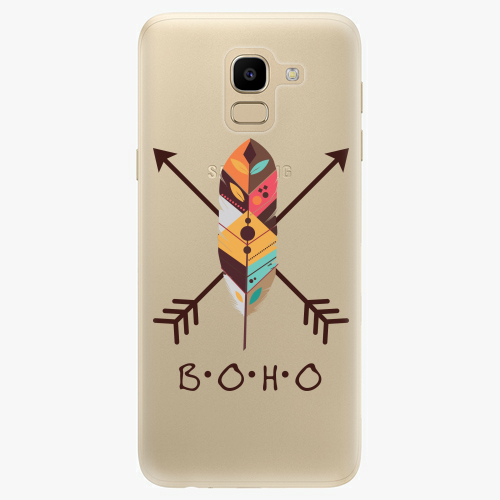 Silikonové pouzdro iSaprio - BOHO na mobil Samsung Galaxy J6