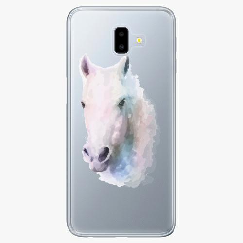 Silikonové pouzdro iSaprio - Horse 01 na mobil Samsung Galaxy J6 Plus