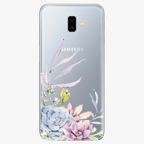 Silikonové pouzdro iSaprio - Succulent 01 na mobil Samsung Galaxy J6 Plus