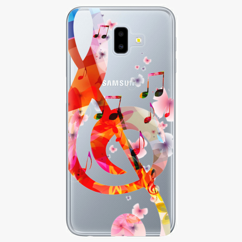 Silikonové pouzdro iSaprio - Music 01 na mobil Samsung Galaxy J6 Plus