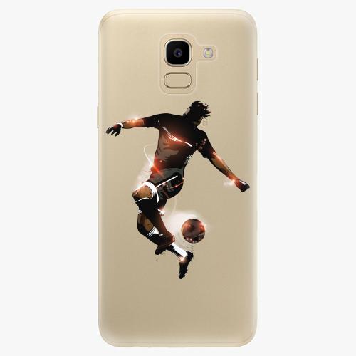 Silikonové pouzdro iSaprio - Fotball 01 na mobil Samsung Galaxy J6