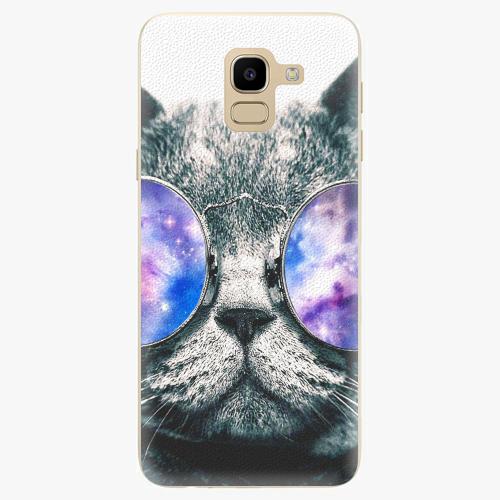 Silikonové pouzdro iSaprio - Galaxy Cat na mobil Samsung Galaxy J6
