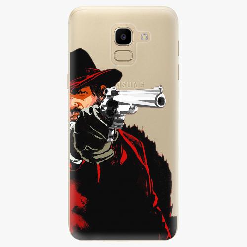 Silikonové pouzdro iSaprio - Red Sheriff na mobil Samsung Galaxy J6