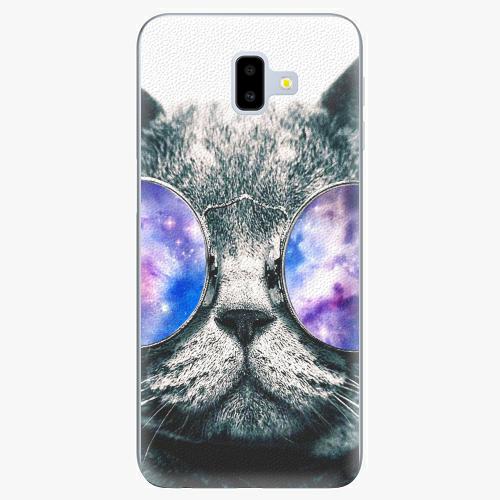 Silikonové pouzdro iSaprio - Galaxy Cat na mobil Samsung Galaxy J6 Plus