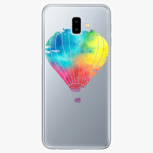 Silikonové pouzdro iSaprio - Flying Baloon 01 na mobil Samsung Galaxy J6 Plus
