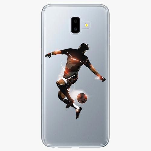 Silikonové pouzdro iSaprio - Fotball 01 na mobil Samsung Galaxy J6 Plus