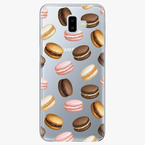 Silikonové pouzdro iSaprio - Macaron Pattern na mobil Samsung Galaxy J6 Plus