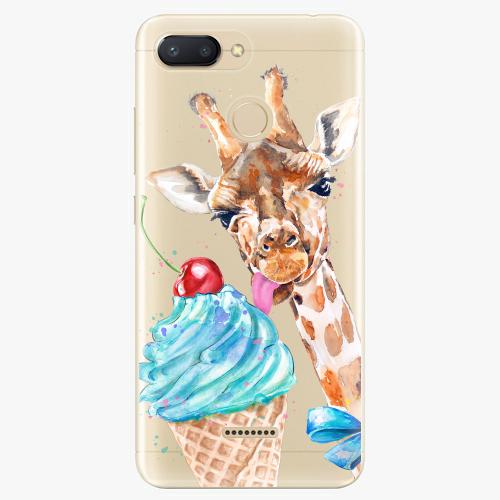 Silikonové pouzdro iSaprio - Love Ice Cream na mobil Xiaomi Redmi 6