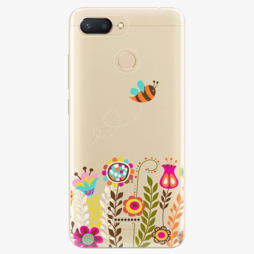 Silikonové pouzdro iSaprio - Bee 01 na mobil Xiaomi Redmi 6