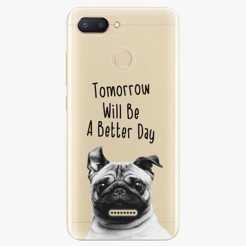 Silikonové pouzdro iSaprio - Better Day 01 na mobil Xiaomi Redmi 6