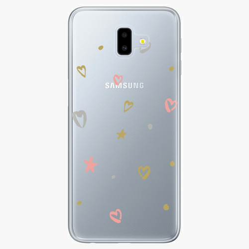 Silikonové pouzdro iSaprio - Lovely Pattern na mobil Samsung Galaxy J6 Plus