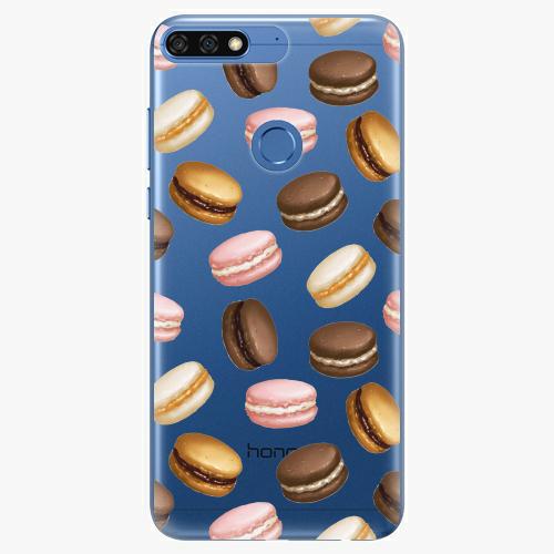 Silikonové pouzdro iSaprio - Macaron Pattern na mobil Honor 7C