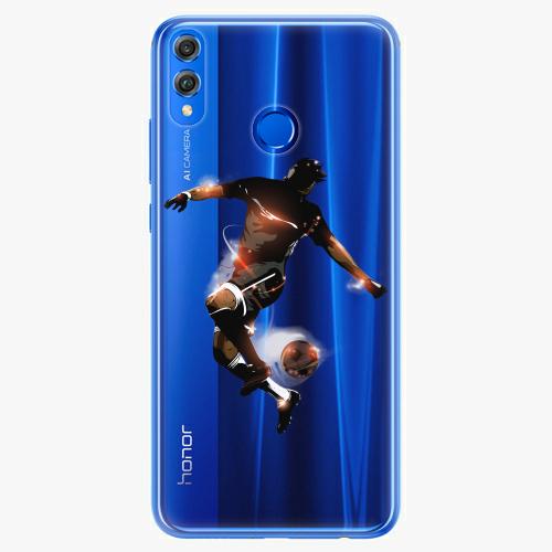 Silikonové pouzdro iSaprio - Fotball 01 na mobil Honor 8X