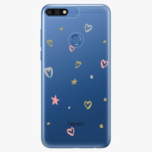 Silikonové pouzdro iSaprio - Lovely Pattern na mobil Honor 7C