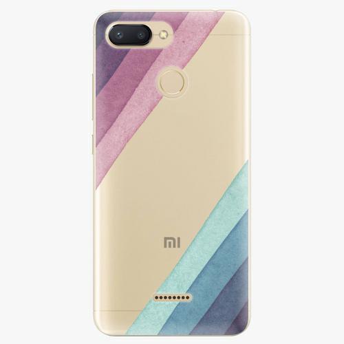 Silikonové pouzdro iSaprio - Glitter Stripes 01 na mobil Xiaomi Redmi 6