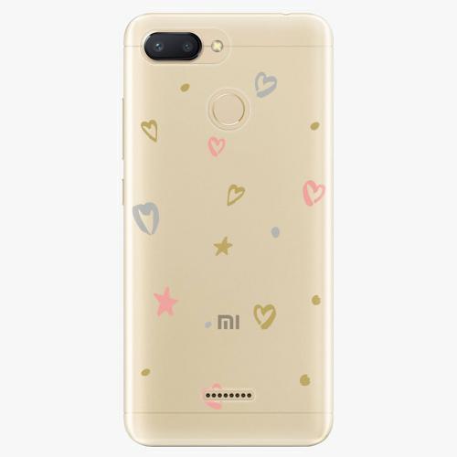 Silikonové pouzdro iSaprio - Lovely Pattern na mobil Xiaomi Redmi 6