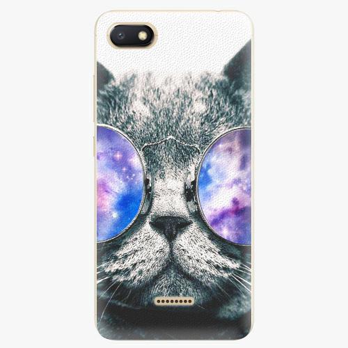 Silikonové pouzdro iSaprio - Galaxy Cat na mobil Xiaomi Redmi 6A
