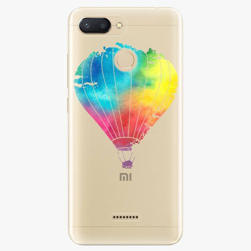 Silikonové pouzdro iSaprio - Flying Baloon 01 na mobil Xiaomi Redmi 6