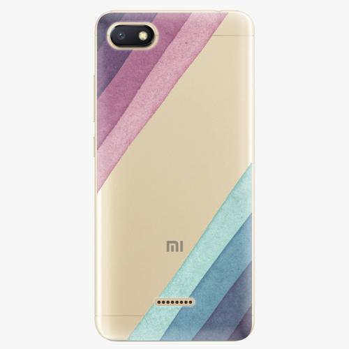 Silikonové pouzdro iSaprio - Glitter Stripes 01 na mobil Xiaomi Redmi 6A