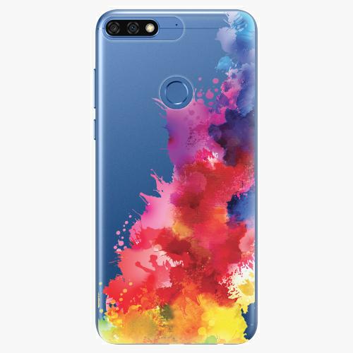 Silikonové pouzdro iSaprio - Color Splash 01 na mobil Honor 7C