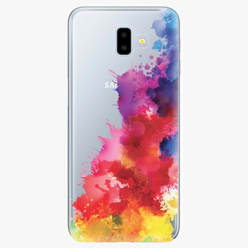 Silikonové pouzdro iSaprio - Color Splash 01 na mobil Samsung Galaxy J6 Plus