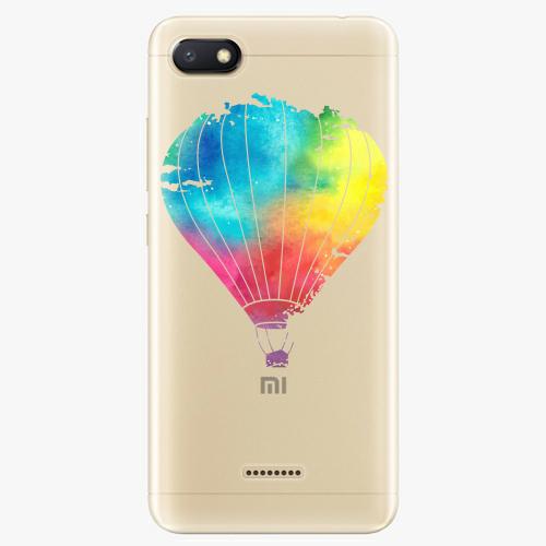 Silikonové pouzdro iSaprio - Flying Baloon 01 na mobil Xiaomi Redmi 6A