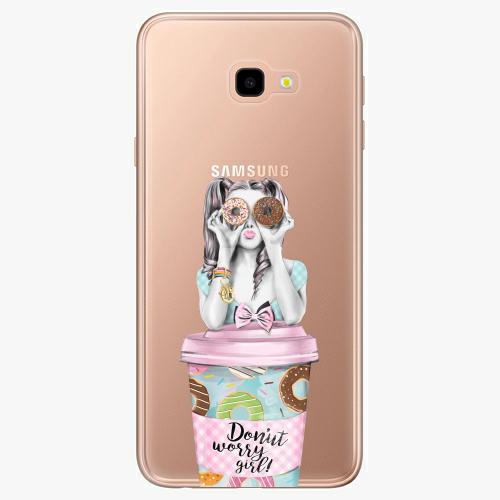 Silikonové pouzdro iSaprio - Donut Worry na mobil Samsung Galaxy J4 Plus