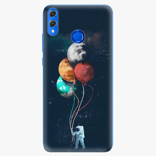 Silikonové pouzdro iSaprio - Balloons 02 na mobil Honor 8X