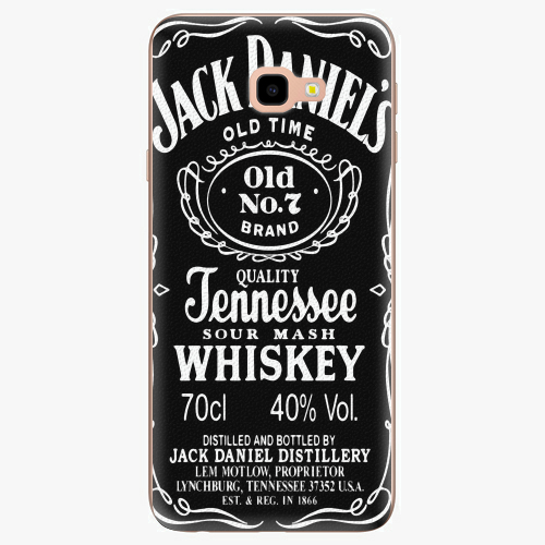 Silikonové pouzdro iSaprio - Jack Daniels na mobil Samsung Galaxy J4 Plus