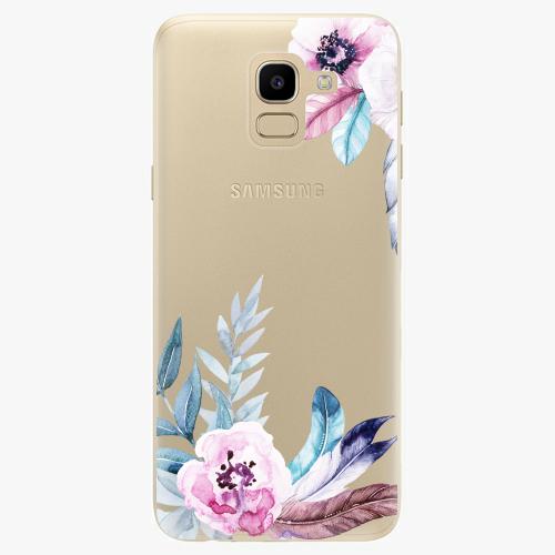 Silikonové pouzdro iSaprio - Flower Pattern 04 na mobil Samsung Galaxy J6  empty a1f46bbd7e4