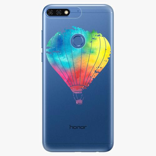 Silikonové pouzdro iSaprio - Flying Baloon 01 na mobil Honor 7C