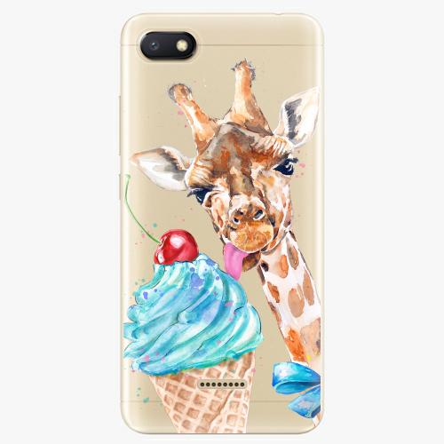 Silikonové pouzdro iSaprio - Love Ice Cream na mobil Xiaomi Redmi 6A