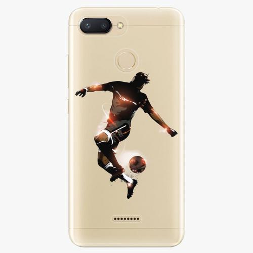 Silikonové pouzdro iSaprio - Fotball 01 na mobil Xiaomi Redmi 6