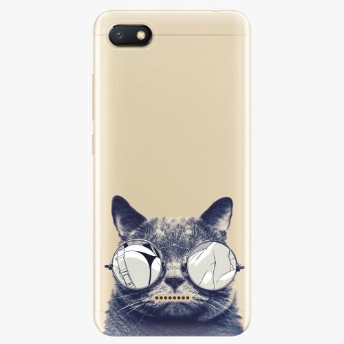 Silikonové pouzdro iSaprio - Crazy Cat 01 na mobil Xiaomi Redmi 6A