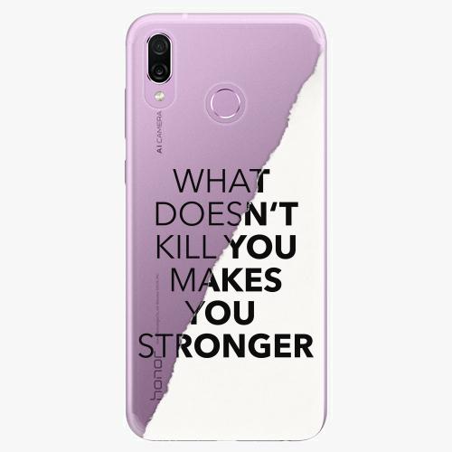 Silikonové pouzdro iSaprio - Makes You Stronger na mobil Honor Play