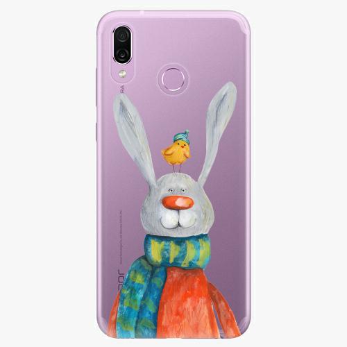 Silikonové pouzdro iSaprio - Rabbit And Bird na mobil Honor Play