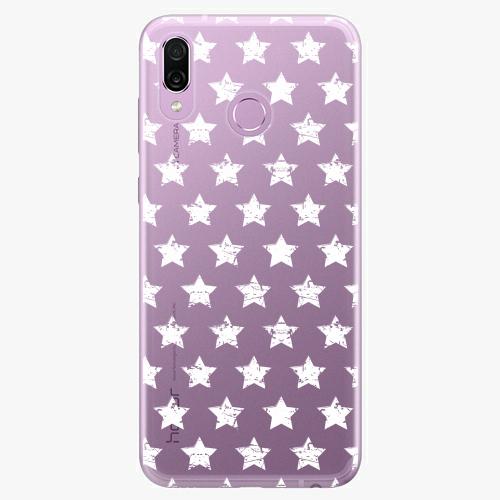 Silikonové pouzdro iSaprio - Stars Pattern white na mobil Honor Play