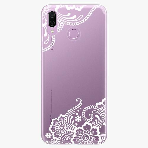 Silikonové pouzdro iSaprio - White Lace 02 na mobil Honor Play