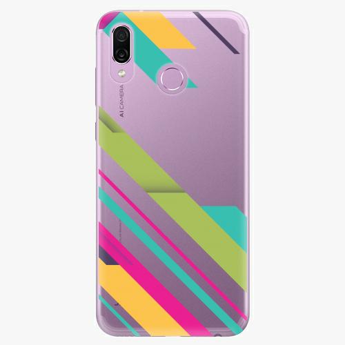 Silikonové pouzdro iSaprio - Color Stripes 03 na mobil Honor Play