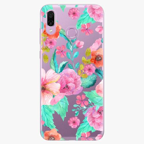 Silikonové pouzdro iSaprio - Flower Pattern 01 na mobil Honor Play