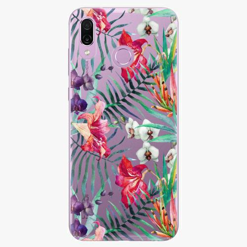 Silikonové pouzdro iSaprio - Flower Pattern 03 na mobil Honor Play