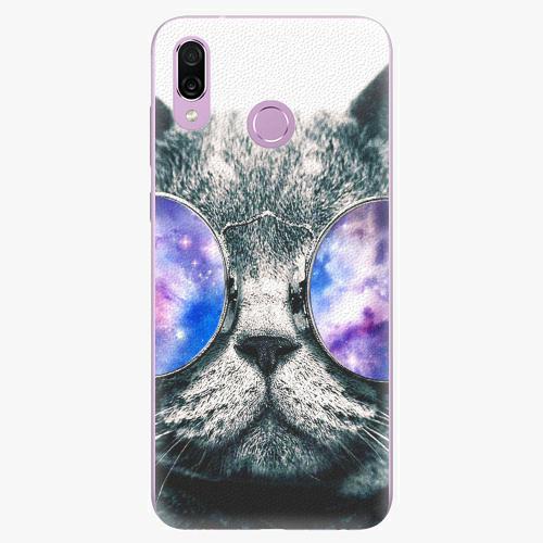 Silikonové pouzdro iSaprio - Galaxy Cat na mobil Honor Play