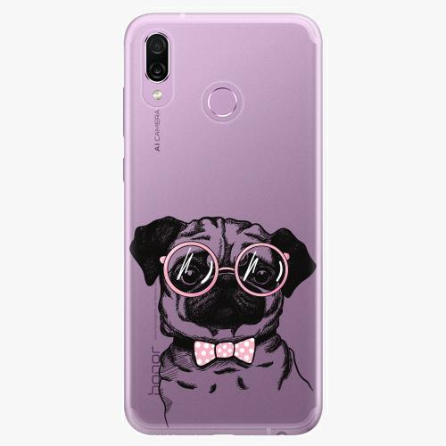 Silikonové pouzdro iSaprio - The Pug na mobil Honor Play