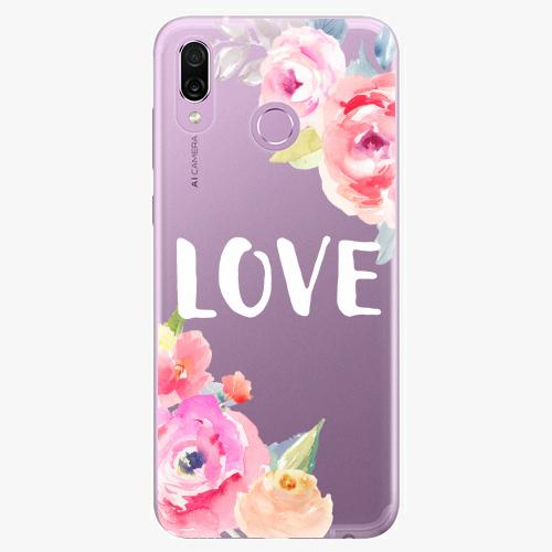 Silikonové pouzdro iSaprio - Love na mobil Honor Play
