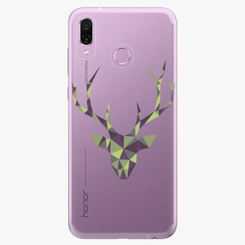 Silikonové pouzdro iSaprio - Deer Green na mobil Honor Play